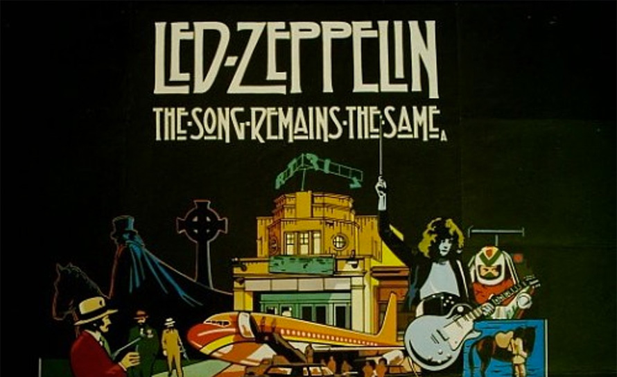 Os discos 40tões | Led Zeppelin – The Song Remains the Same